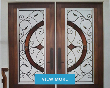 Wrought Iron Door Inserts Lincoln by Modern Window Fashion