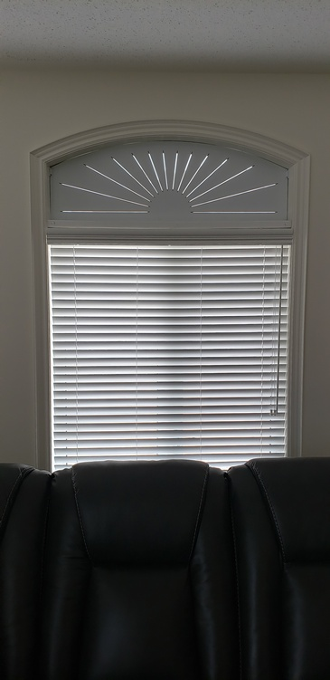 Four and Half Inch Fauxwood Blinds - Window Coverings ontario by Modern Window Fashion