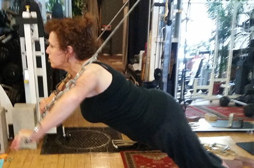 Woman undergoing Flexibility training at Better Results Personal Training