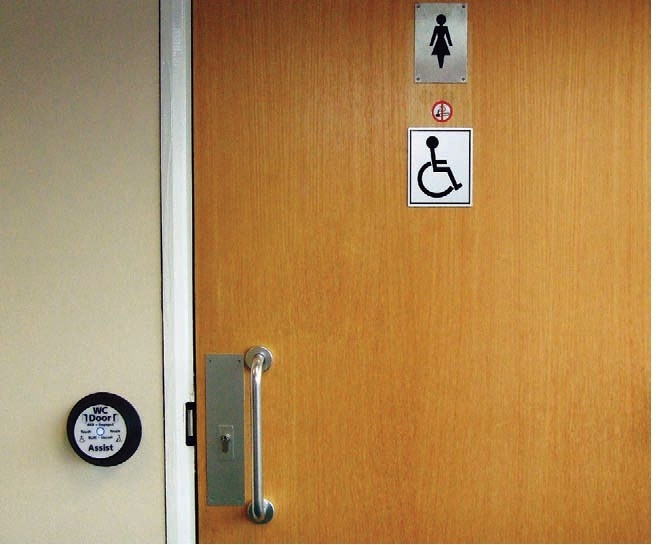 Disabled Access Door