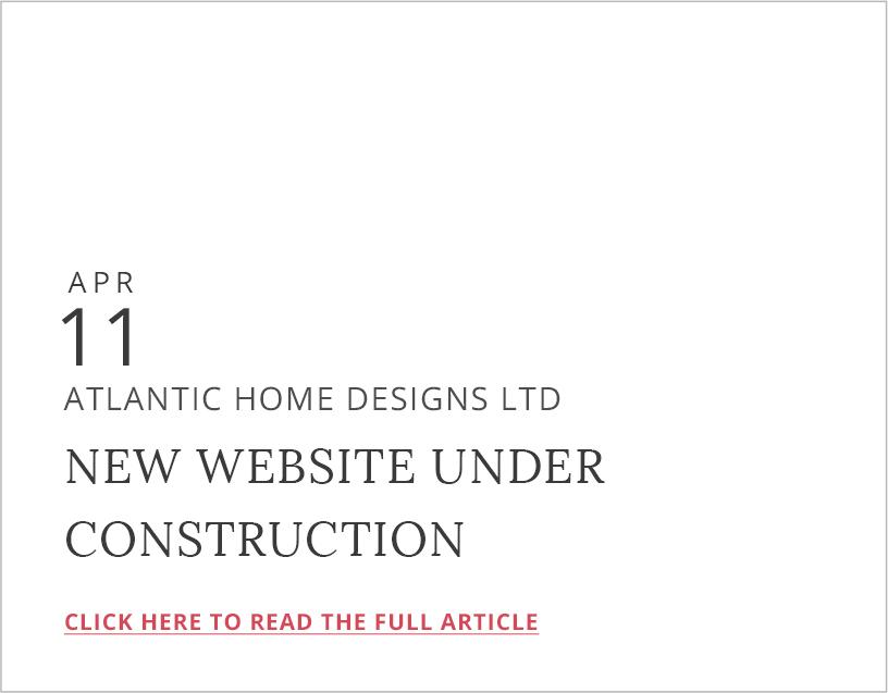 Custom Home Design Nova Scotia