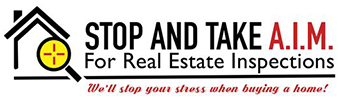 A.I.M. For Real Estate Inspections Logo
