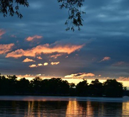 Landscape Sunset - Nature Photography Services Orillia by I Dream of Trees Photography