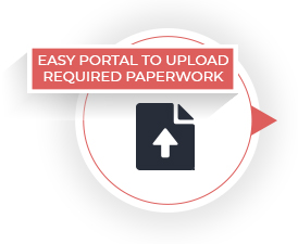 Easy Portal To Upload Required Paperwork