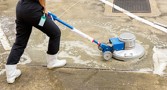 Concrete Floor Polishing Services in West Palm