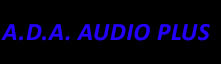 A.D.A Audio Plus Logo