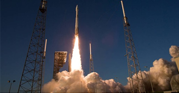 U.S. Cygnus Cargo Ship Reaches Orbit for Monday Delivery - redhouse studio