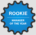 Rookie Manager of the Year Award for Mako Consultants Inc - Dallas Marketing and Training Jobs