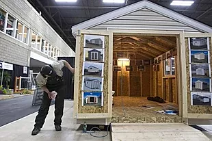 Custom Garage, Shed Builder Sturgeon County | Portable Shed