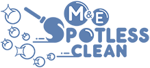 M & E Spotless Cleaning Services Logo