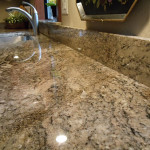 Shiny Finish Natural Stone by AABA Kitchen Cabinets and Countertops - Affordable Countertops Toronto