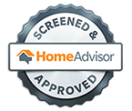 Screened and Approved HomeAdvisor Logo - Home Repair and Improvement Services