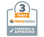 HomeAdvisor Top Rated Badge - Home Improvement Services