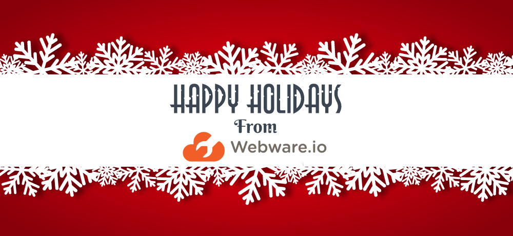 Season's Greetings from Webware.io