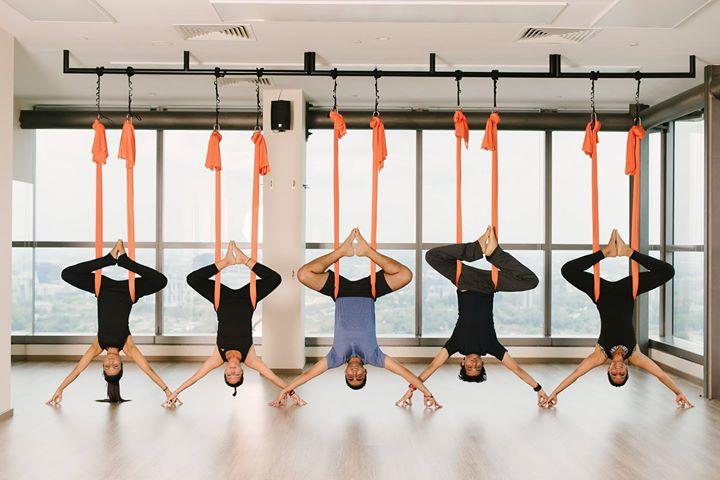 Aerial Yoga Singapore Platinum Yoga