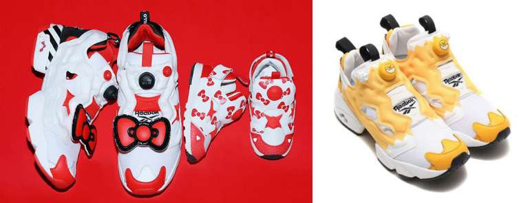 Reebok's newest InstaPump Fury OG might be their most kawaii ones yet, with Hello Kitty and Gudetama!