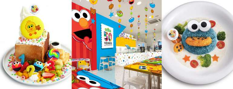 This Sesame Street-themed pop-up cafe serves adorably yummy dishes that are cute for kids and nostalgic for adults