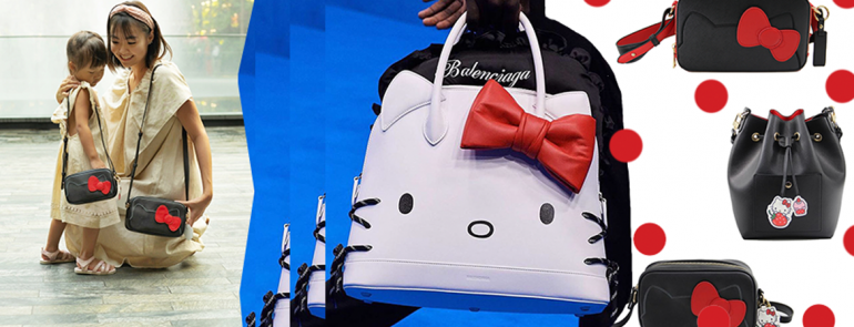 These Hello Kitty twin bags may just be the cutest accessories that mums with daughters can't resist