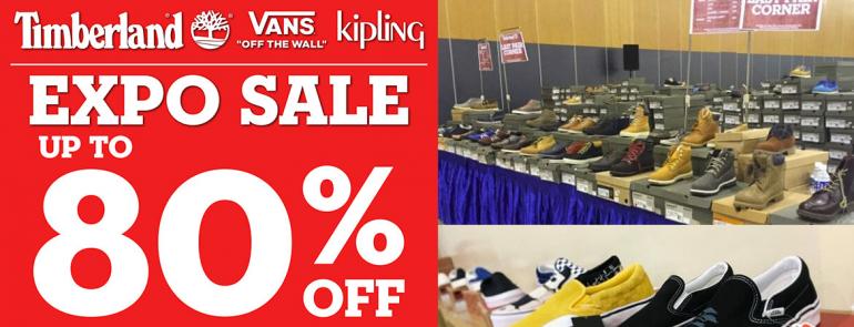 Sneakerheads! The Timberland, Vans & Kipling Expo Sale 2019 is coming soon…