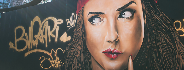 Bvlgari works with local graffiti artist to create a stunning masterpiece that you'd want to take a photo of