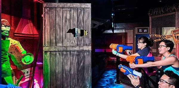 The world's first Nerf Action Xperience (NAX) opens tomorrow