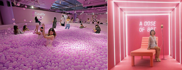 The Bubble Tea Factory: An Instagram-worthy pop-up exhibition that fans can't miss