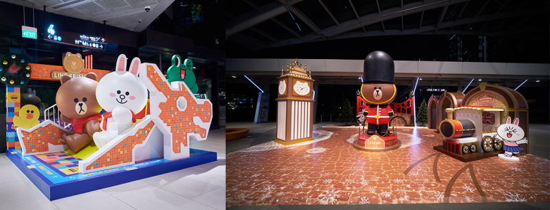 Exclusive LINE FRIENDS collectibles are now available at pop-up stores all over Singapore