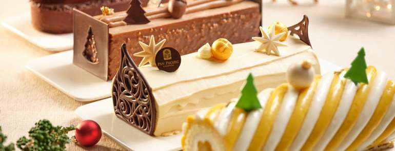 Where to get Christmas log cakes that will impress all your dinner guests
