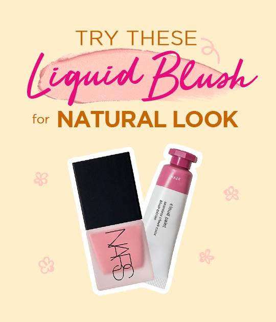 Liquid Blush for Natural Look