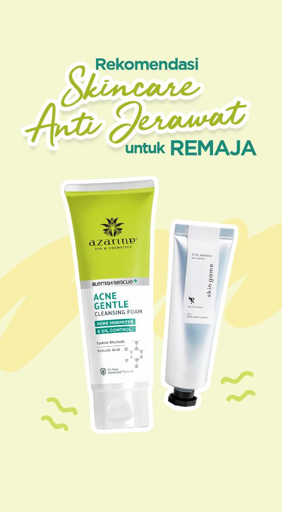 Rekomendasi Skincare Anti Jerawat untuk Remaja