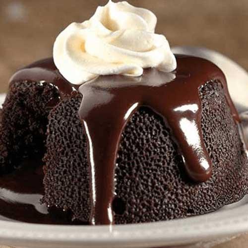 Chocolava Cake
