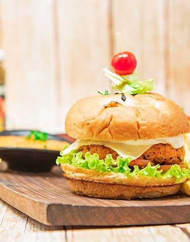Peri-Peri-Chicken-Burger