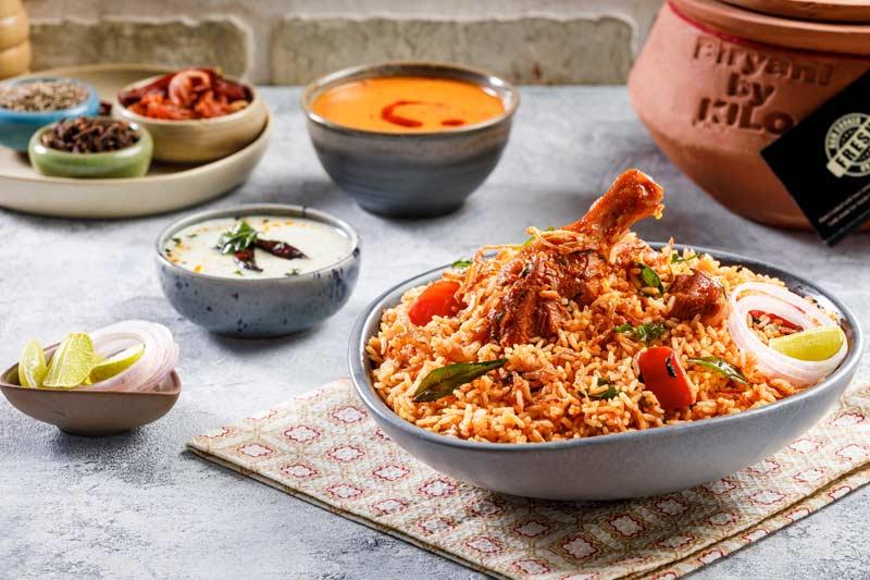 Malabar Chicken Biryani