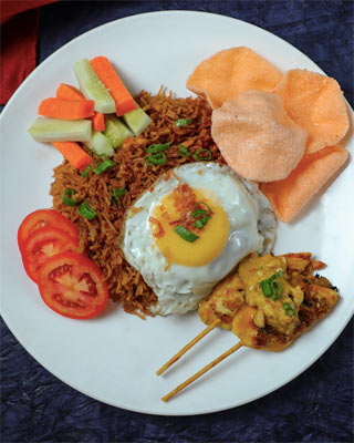 Chicken Nasi Goreng Rice in Mumbai Order Online