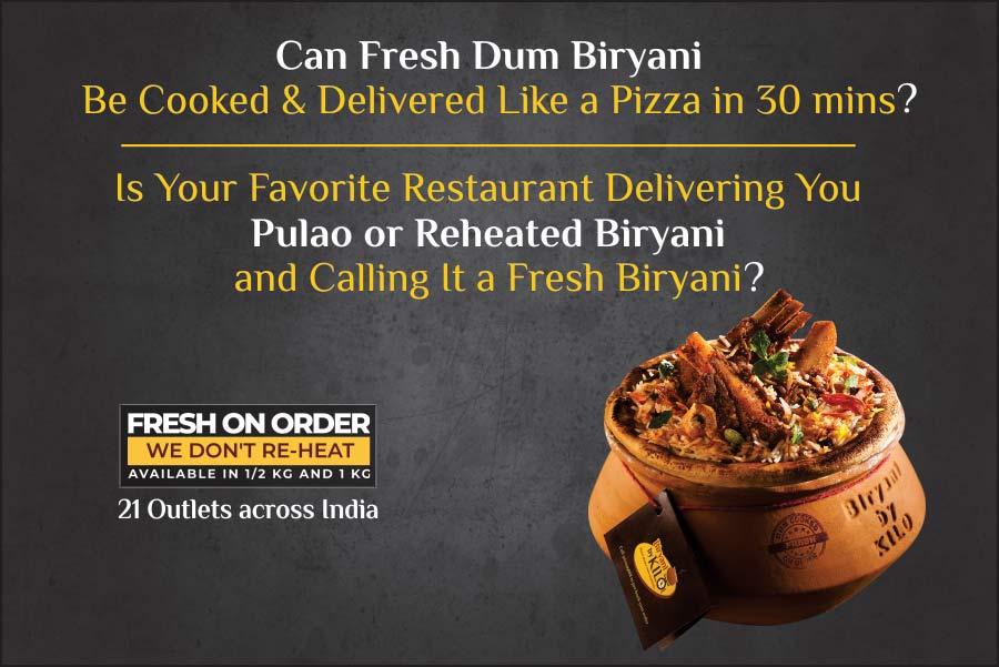 Biryani By Kilo - Order Biryani Online | Best Biryani Home Delivery