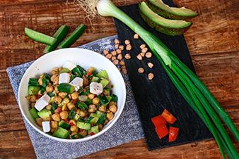 Avocado & Chickpea Delight Salad