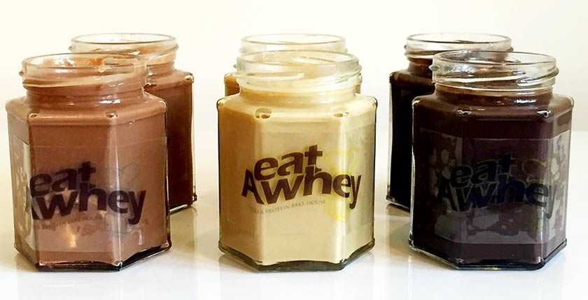 Eat A Whey Almond, Peanut and Dark Chocolate Hazelnut Butter