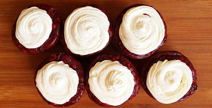 Eat A Whey Red Velvet Protein Cupcakes