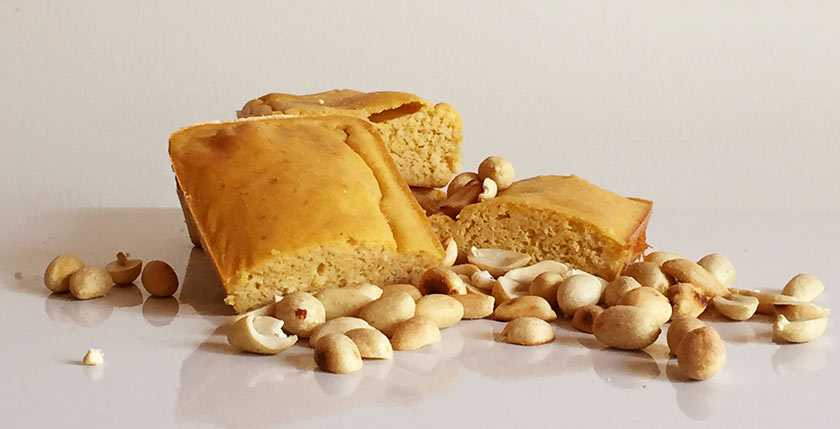 Eat A Whey Peanut Protein Blondies