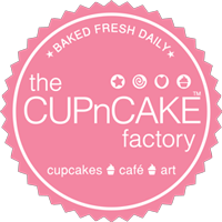 The CUPnCAKE Factory logo