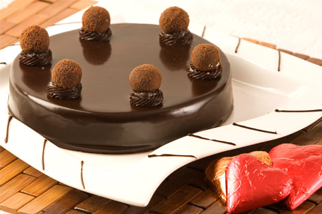 Chocolate Truffle Cake (Available in Eggless)