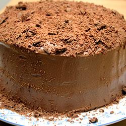 Chocolate Flakes Cake