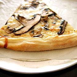 Mushroom Cheese Slice