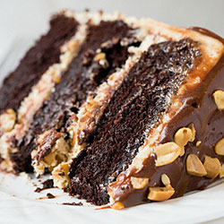Chocolate Snicker Cake (On Order)