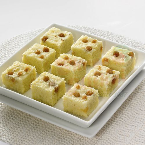 Butterscotch Burfi