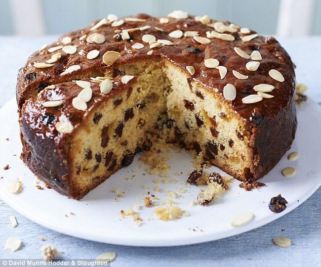 Mix Fruit Dry Cake