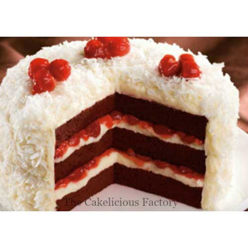 Red Velvet White Forest