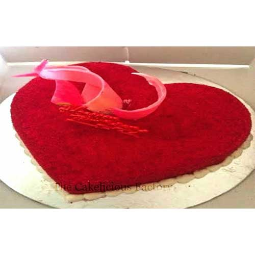 Heart Shaped Red Velvet