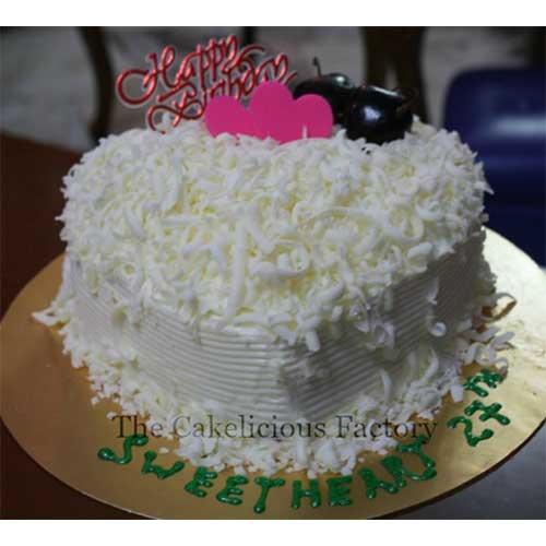 Heart Shaped Cake Design 4