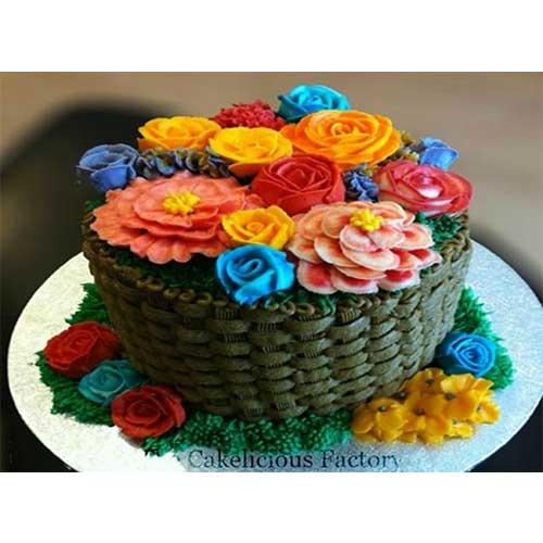 Chocolate Flower Basket
